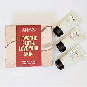 NWT Ahava Revitalizing Mineral Body Care Set - 3-P